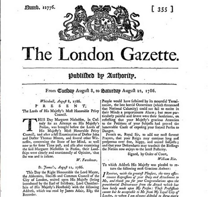 Скоро о Маргарет напишут все лондонские газеты